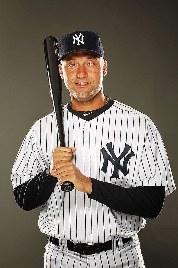 TAMPA, FL - FEBRUARY 23:  Derek Jeter #2 of the New York Yankees poses for a portrait on Photo Day at George M. Steinbrenner Field on February 23, 2011 in Tampa, Florida.  (Photo by Al Bello/Getty Images) *** Local Caption *** Derek Jeter Photo: Al Bello, Getty Images / 2011 Getty Images