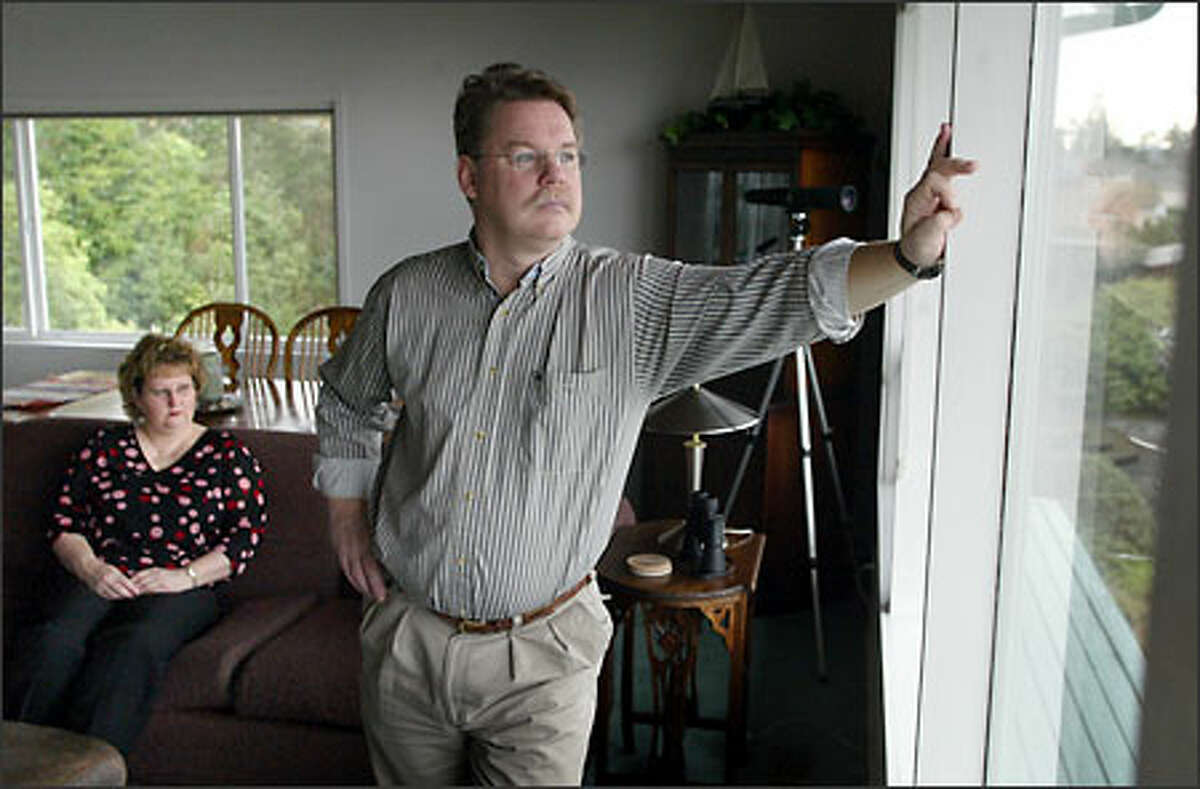 Jody and Eli Bunch live together in their Des Moines home but are legally separated -- for her financial protection