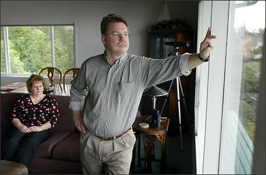 Jody and Eli Bunch live together in their Des Moines home but are legally separated -- for her financial protection Photo: Joshua Trujillo/Seattle Post-Intelligencer