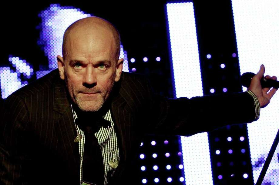 NAPLES, ITALY - JULY 23:  Michael Stipe of R.E.M. performs at the 2008 Neapolis Festival on July 23, 2008 in Naples, Italy.  (Photo by Vittorio Zunino Celotto/Getty Images) Photo: Vittorio Zunino Celotto, Staff / San Antonio Express-News