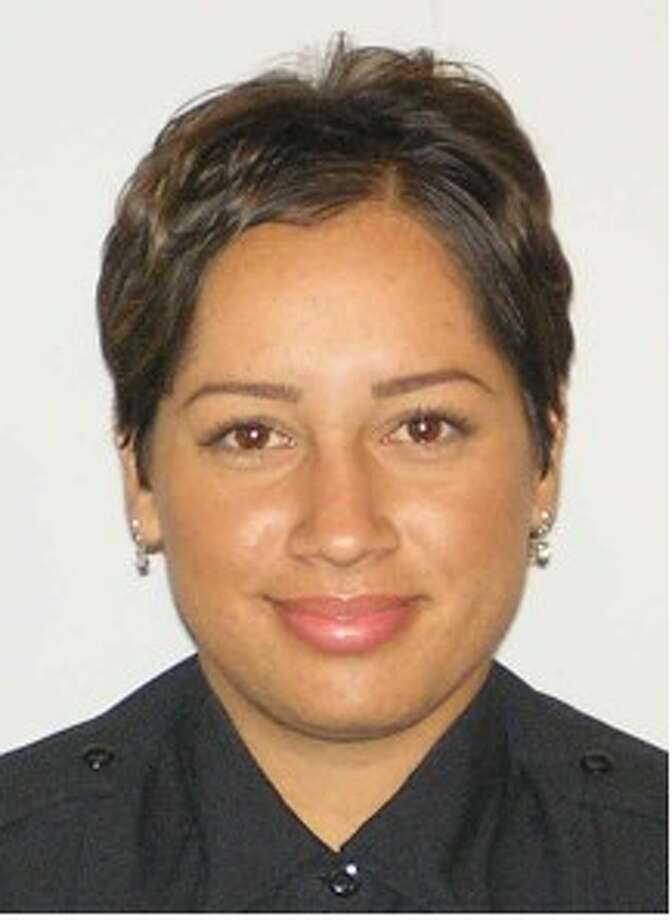 Officer Stephanie Brown, 27, was killed by a wrong-way driver early Tuesday just north of downtown. The wrong-way driver, whose name has not yet been released, also died in the crash. / courtesy from SAPD