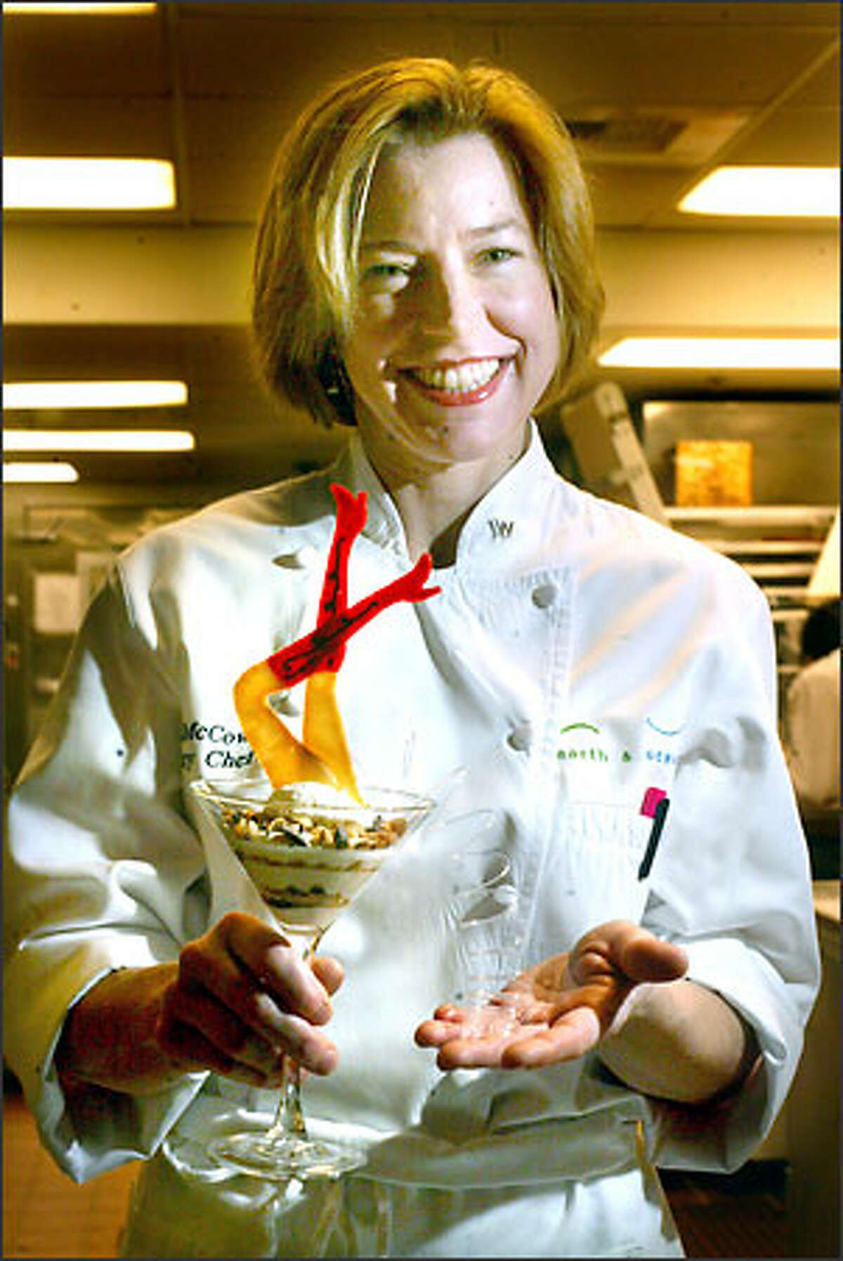 Earth & Ocean executive pastry chef Sue McCown's distinctive desserts promise to satisfy any sweet tooth in an unforgettable way.
