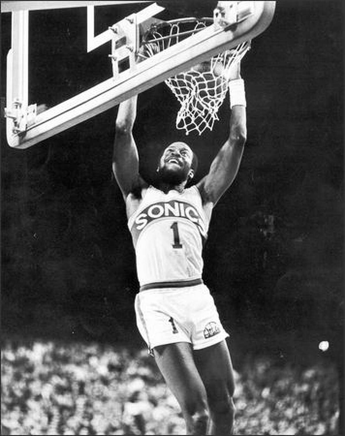 Gus Williams averaged 26.6 points per game on 47 percent shooting during Sonics' 1979 playoff games.
