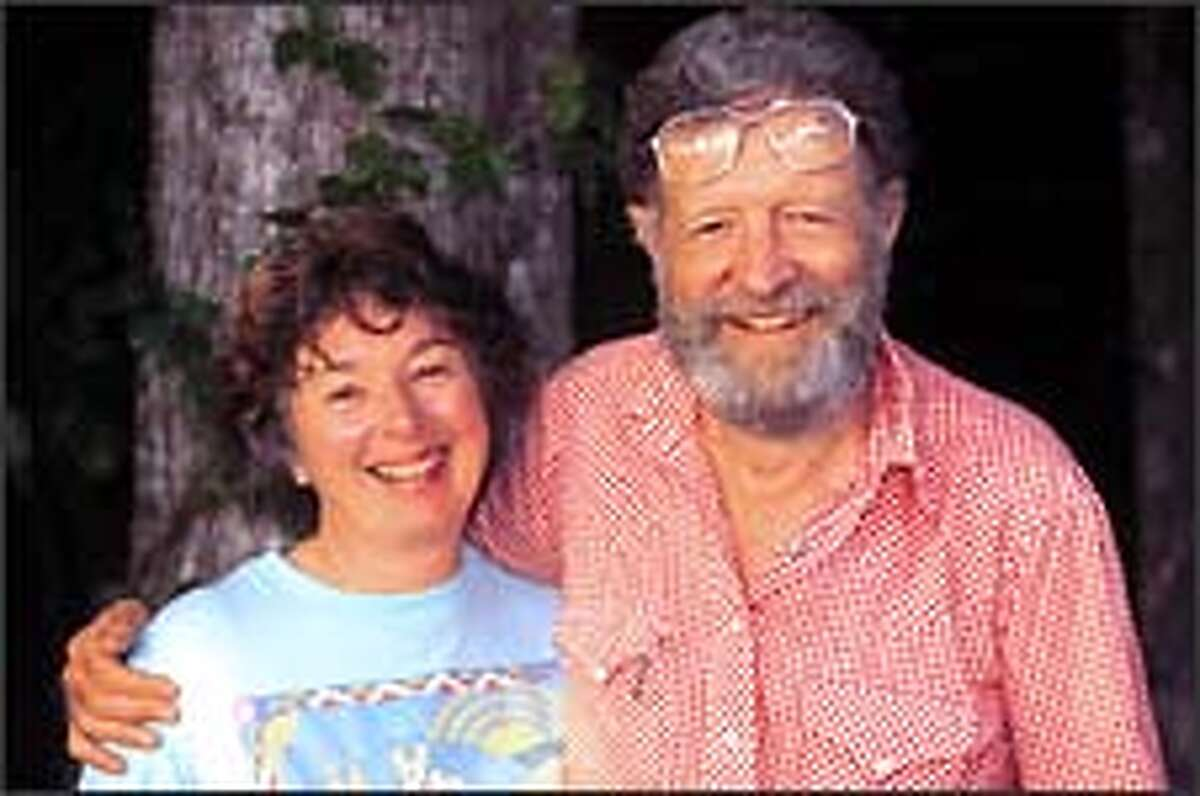 Peggy Bauer and Erwin Bauer, in Florida circa 1997,