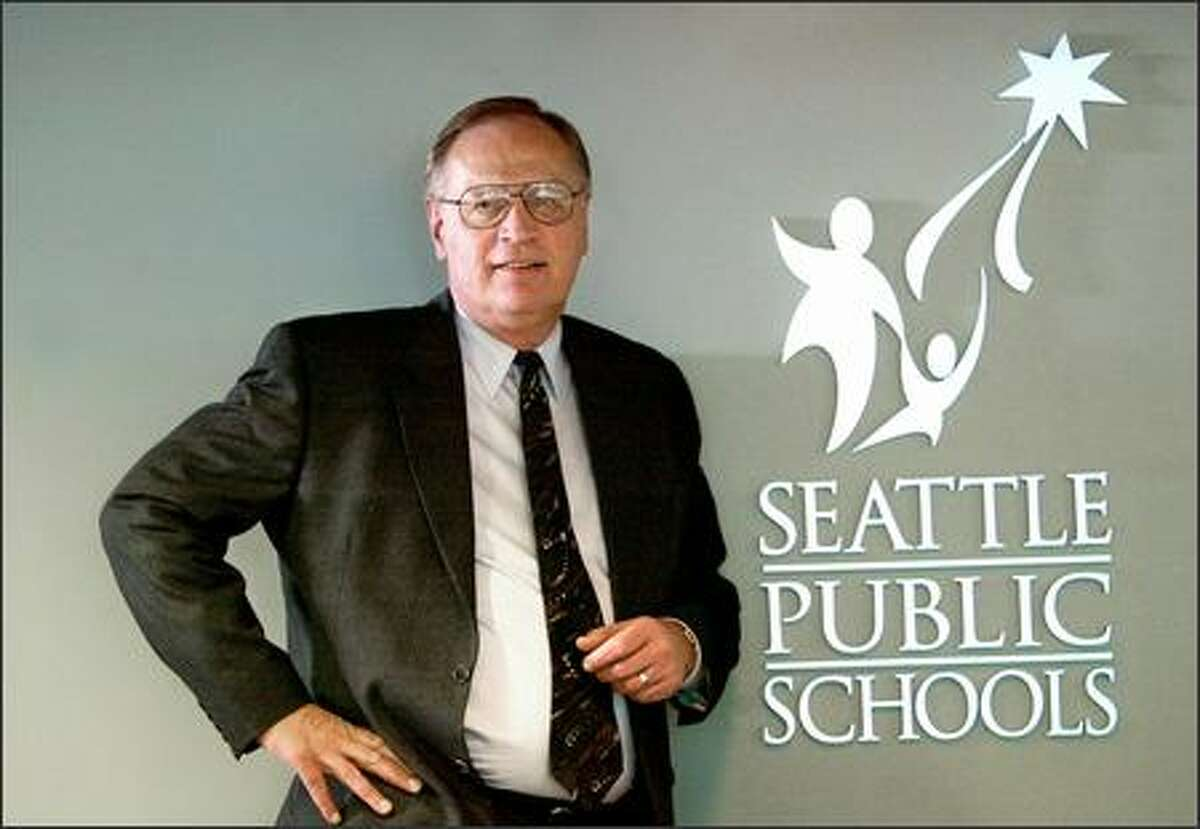 """""""People are what I'm all about,"""" says Steve Wilson, new chief academic officer for Seattle Public Schools. A teacher and administrator in Seattle for more than 20 years, Wilson replaces June Rimmer."""