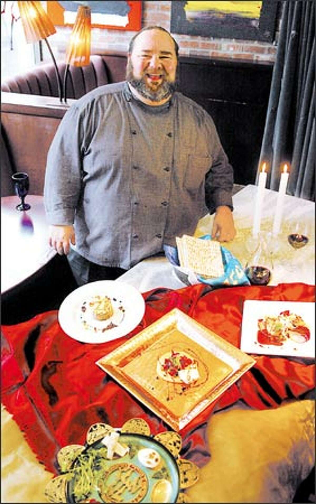 """Chef Jan Birnbaum is injecting his trademark """"Big Dawg"""" sizzle into the Seder."""
