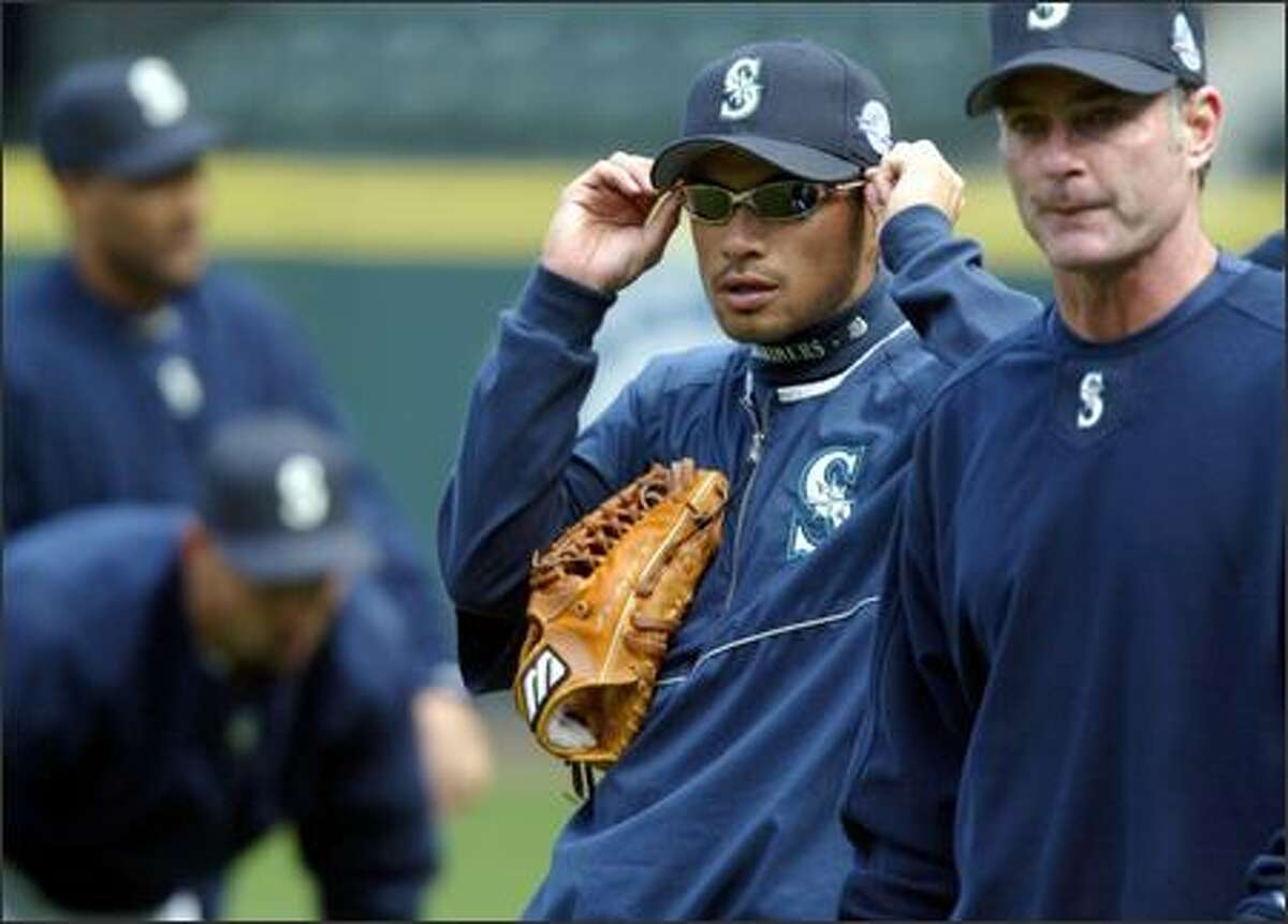 Ichiro Suzuki and the rest of the Mariners begin their season Tuesday afternoon against Anaheim. Seattle has missed the playoffs the past two seasons despite winning 93 games each year.
