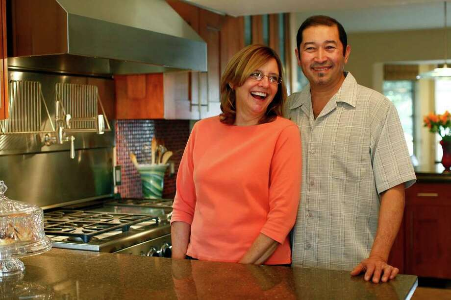 TASTE - Kathleen and Ralph Laborde's kitchen in their San Antonio home on Saturday, Feb. 26, 2011. LISA KRANTZ/lkrantz@express-news.net Photo: LISA KRANTZ, SAN ANTONIO EXPRESS-NEWS / SAN ANTONIO EXPRESS-NEWS
