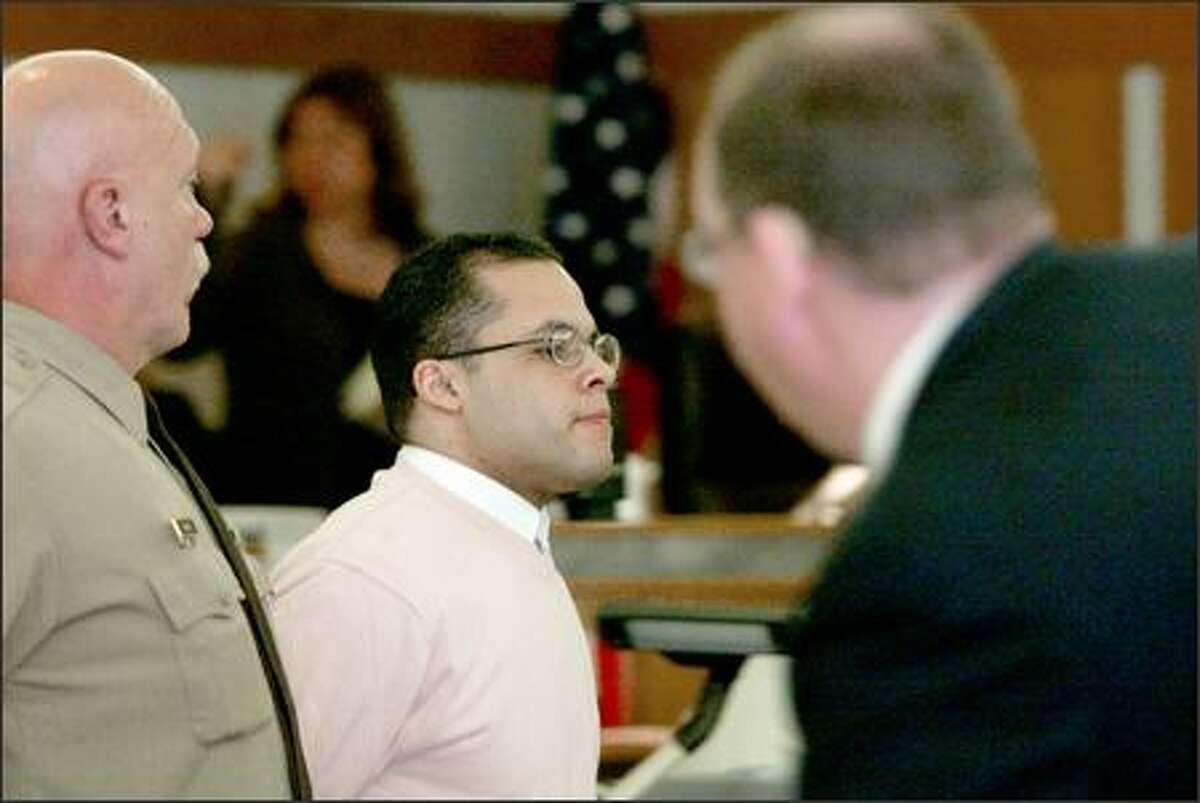 "John ""Diggy"" Anderson is accused of killing Rachel Burkheimer on Sept. 23, 2002."