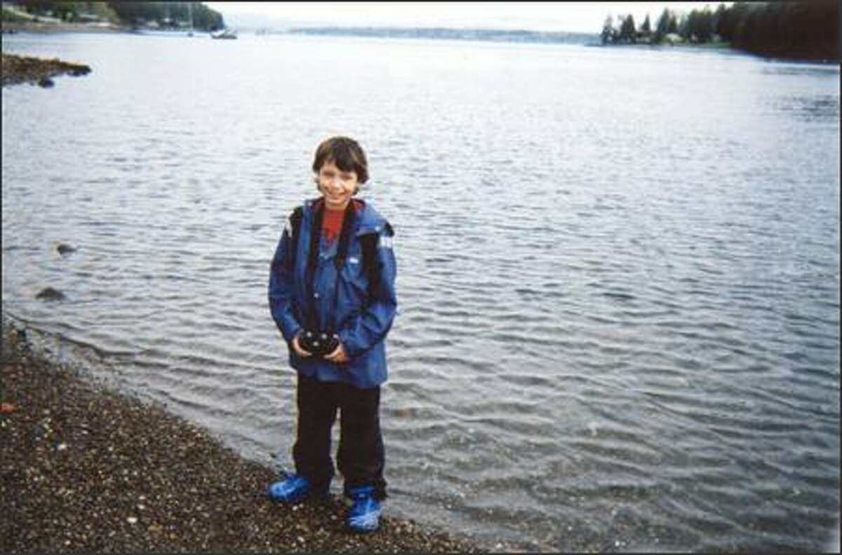A student of Seattle's First Place School attended camp at Bainbridge IslandWood last summer thanks to donations from P-I readers.