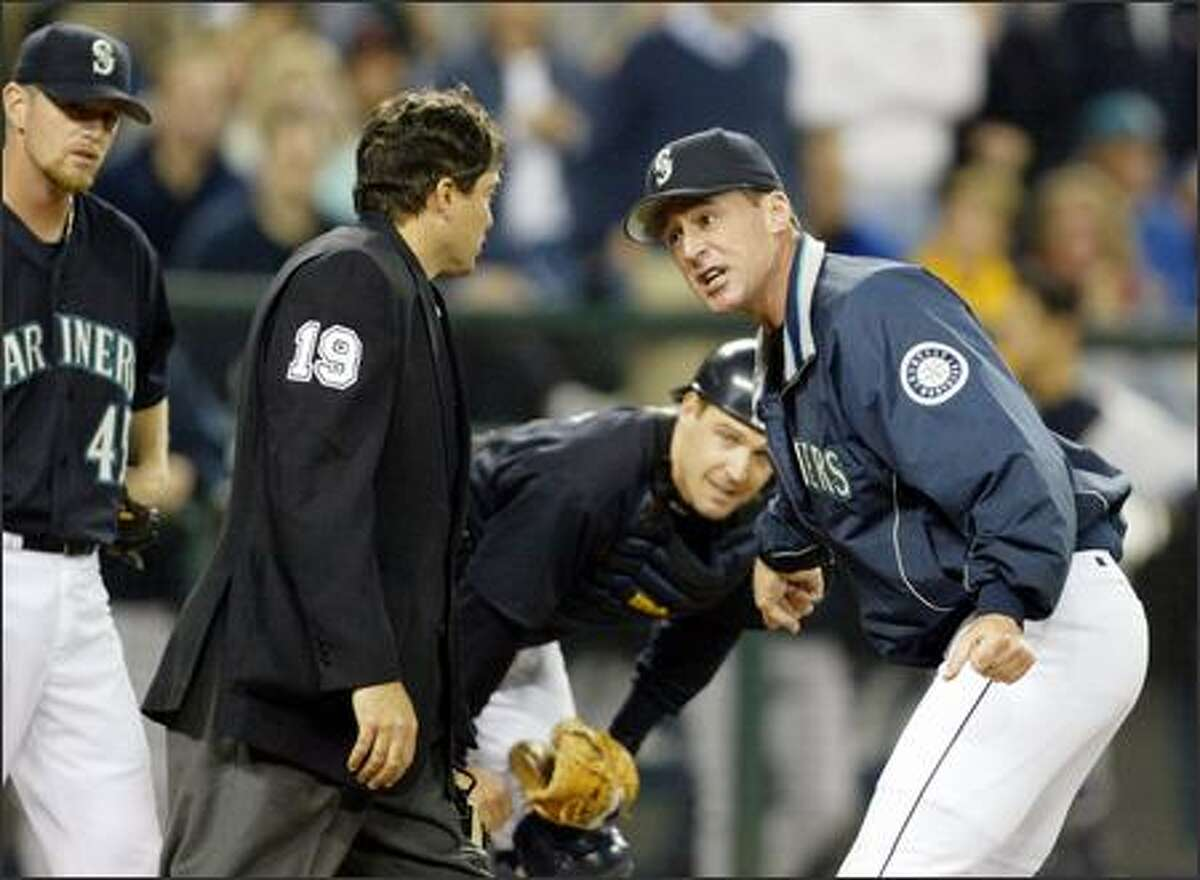 """Manager Bob Melvin and the Mariners have trailed in 27 of their 31 games. Said Melvin: """"It's much easier to play when you're ahead. ... You can make some mistakes when you're ahead. When you're behind, it's a lot more difficult to try and create things."""""""