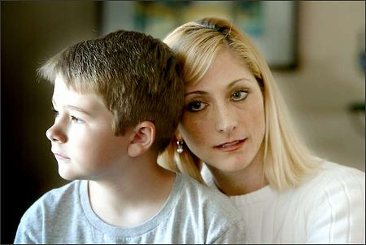 Kimberly Brown wonders if the health problems of her son, Forrest Allison-Brown, now 8, might be linked to heavy metal exposure from a school drinking fountain.