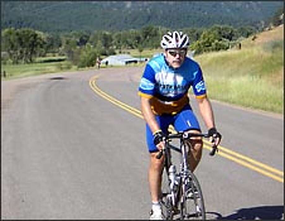 With nearly a third of his trip complete, Jay Torborg of Sammamish has so far raised more than $20,000 for the Lance Armstrong Foundation.