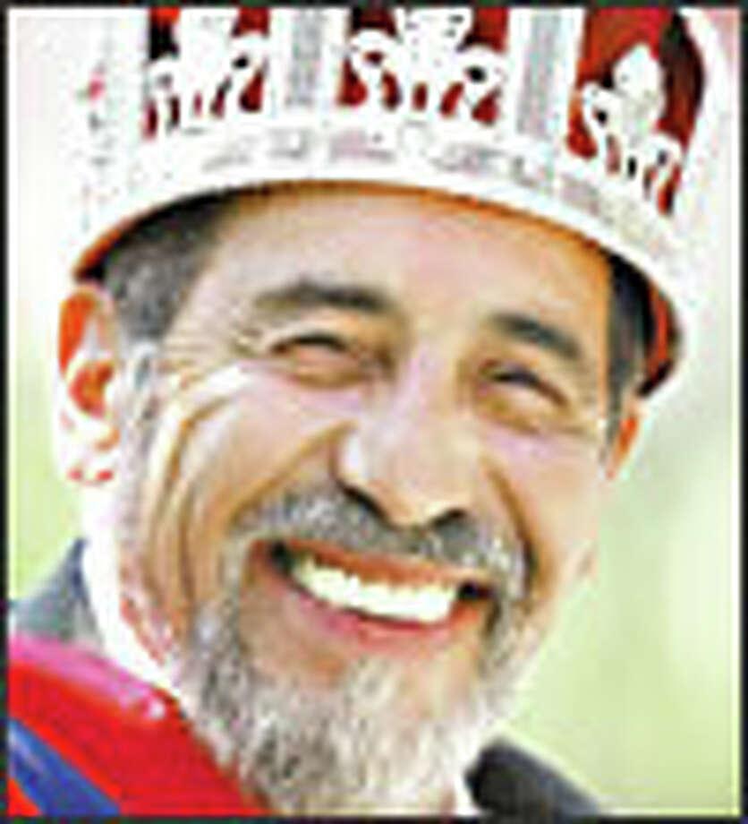 Roberto Maestas, executive director of El Centro de la Raza, is the first Latino to wear the Seafair crown. Photo: MIKE URBAN/P-I