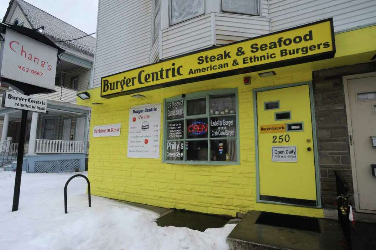 Exterior of Faisal David Khan's restaurant Burger Centric on Delaware Ave. in Albany, NY on Thursday, March 10, 2011. (Lori Van Buren / Times Union)