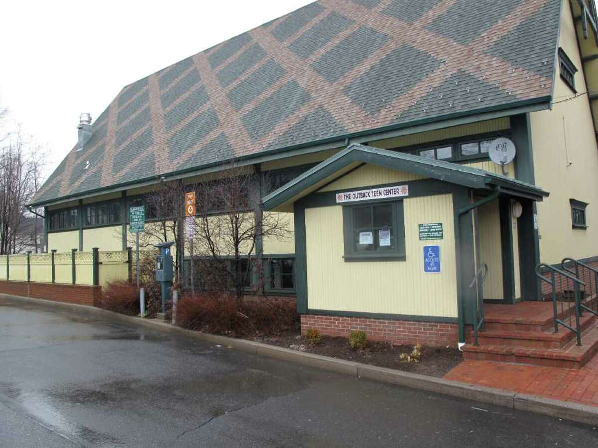 FILE - Outback Teen Center in New Canaan.