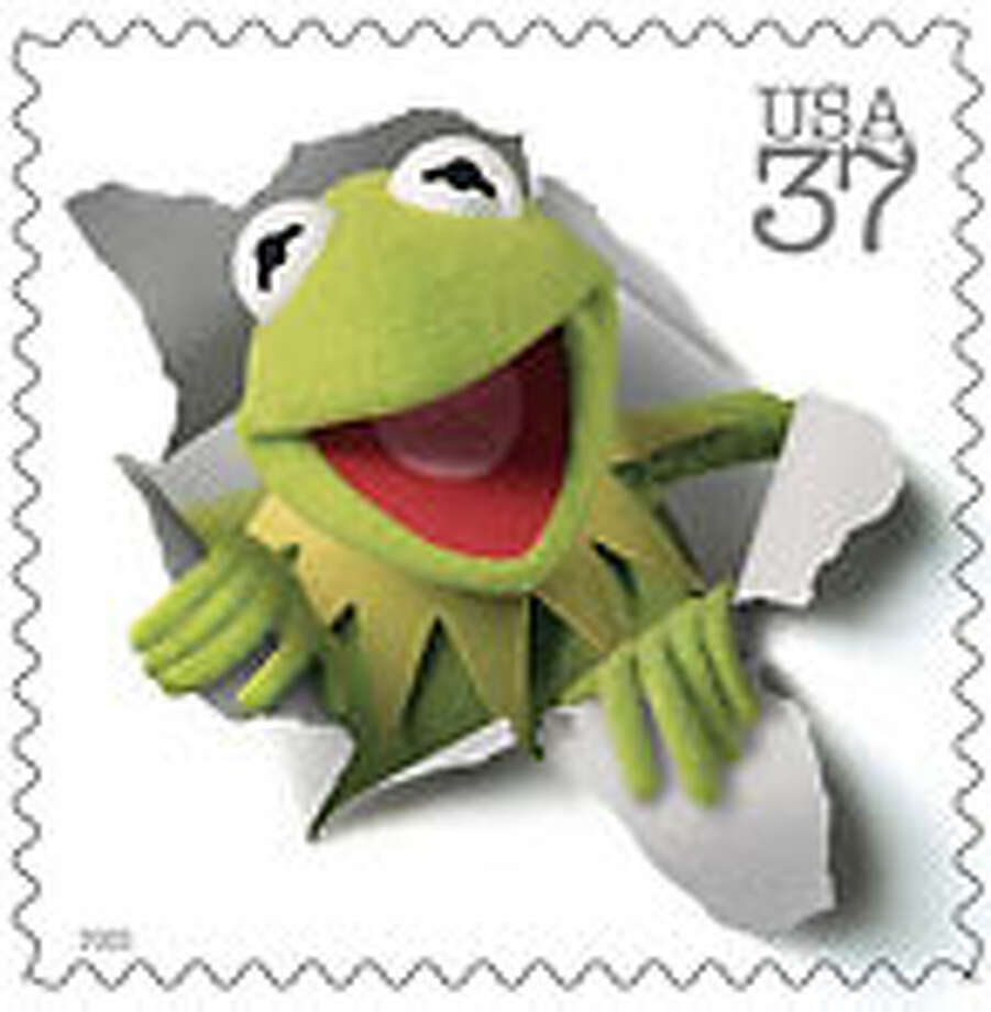 Stamps with Kermit the Frog and his fellow Muppets will be out in March. See all the Muppet stamps.