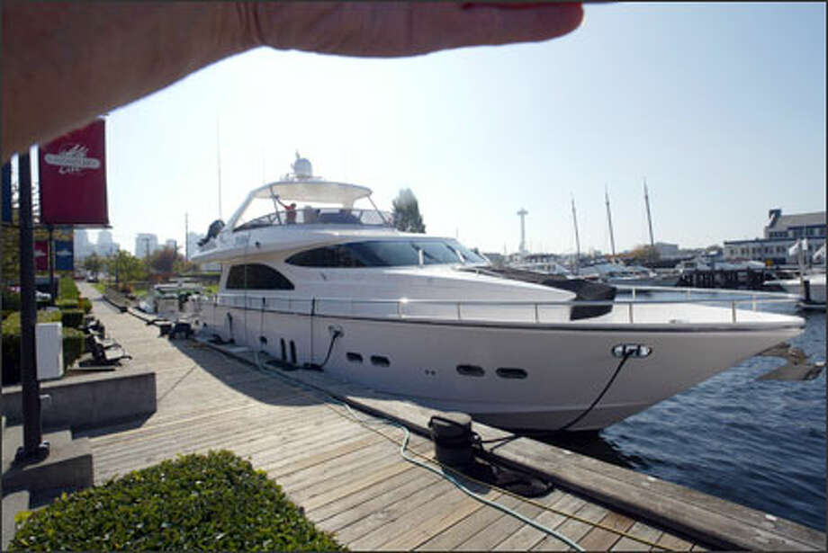 Yacht buyers -- and sellers, too -- are taking advantage of tax incentives to buy pleasure boats. Photo: Phil H. Webber/Seattle Post-Intelligencer