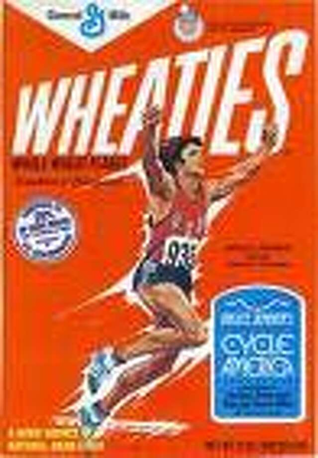 Bruce Jenner is featured on a box of Wheaties. Photo: Contributed Photo / The News-Times Contributed