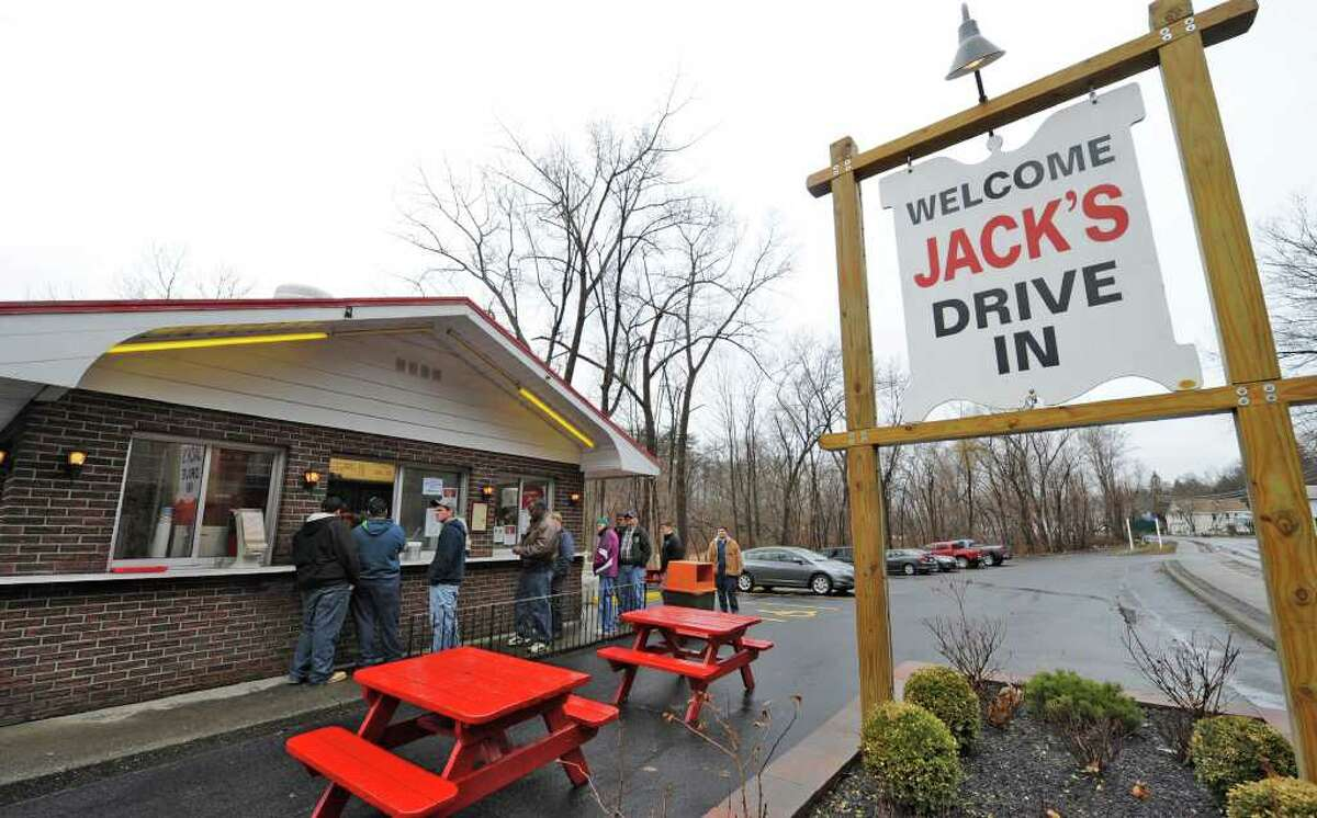 Jack's Drive-In in Wynantskill plans to open its 2021 season on Monday, March 15. (Skip Dickstein / Times Union)