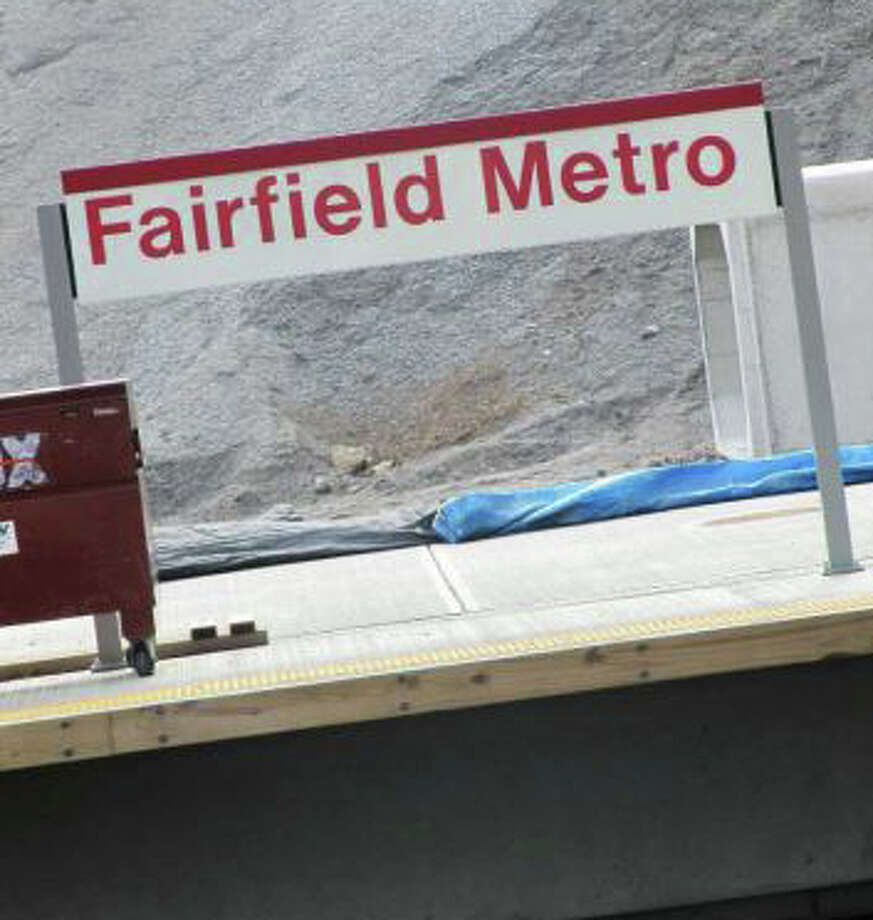 "Fairfield's third railroad station, slated to open this fall, should be called ""Fairfield Metro,"" the Board of Selectmen voted Wednesday. The state, which has final say on what the depot will be called, posted signs with the Fairfield Metro name weeks ago. Photo: File Photo / Fairfield Citizen"