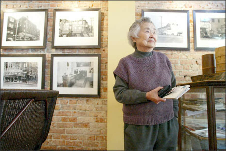 Shigeko Uno was born 89 years ago and still lives in Japantown, or Nihonmachi, a corner of the International District that was home to hundreds of Japanese businesses. Photo: Gilbert W. Arias/Seattle Post-Intelligencer / SEATTLE POST- INTELLIGENCER
