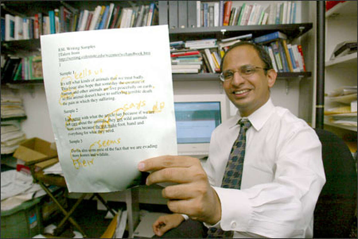 Sandeep Krishnamurthy shows a marked up example of how Microsoft's Word grammar checker doesn't quite do the job.