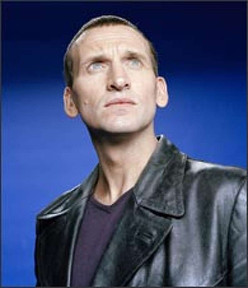 Christopher Eccleston plays the ninth Doctor. / Copyright BBC 2005