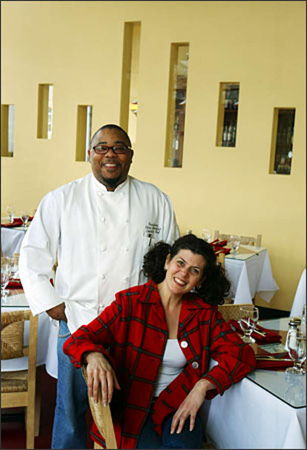 Chef Christopher Hartfield brings a new world of influences to Bandoleone, founded by Danielle Philippa in 1995. Photo: Meryl Schenker/Seattle Post-Intelligencer