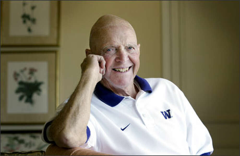 Bob Jorgensen, who played at Roosevelt and the UW, lives in Bellevue. Photo: Dan DeLong/Seattle Post-Intelligencer