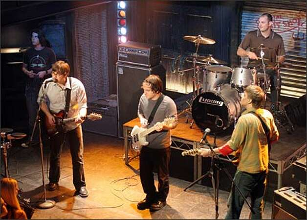 Death Cab for Cutie on 'The O.C.' Photo: /