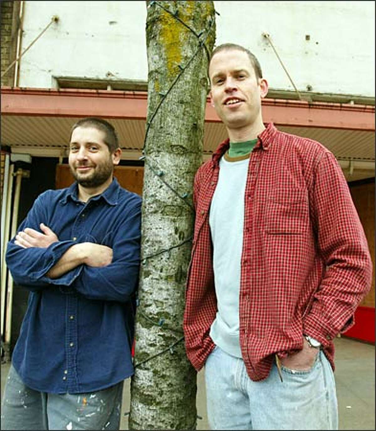 Outstanding Baker: Evan Andres (right),Columbia City Bakery, Seattle