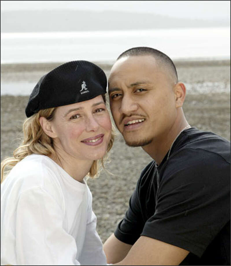 Mary K. Letourneau and Vili Fualaau pose outside their Seattle-area home on April 9, 2005. (AP Photo/Courtesy of Entertainment Tonight and The Insider, Mark Greenberg) Photo: / Associated Press / COURTESY ENTERTAINMENT TONIGHT