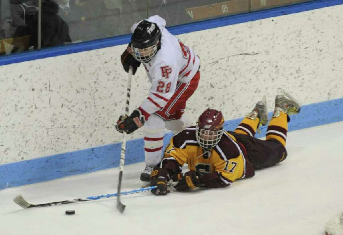 Highlights from CIAC Class I semifinal boys hockey action between Fairfield Prep and South Windsor at Yale's Ingalis Rink in New Haven on Wednesday March 16, 2011.