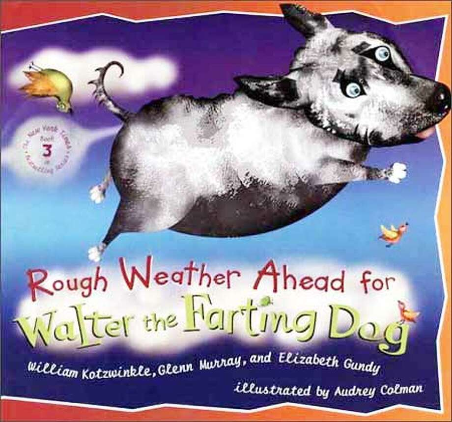 "The cover of ""Rough Weather Ahead"""