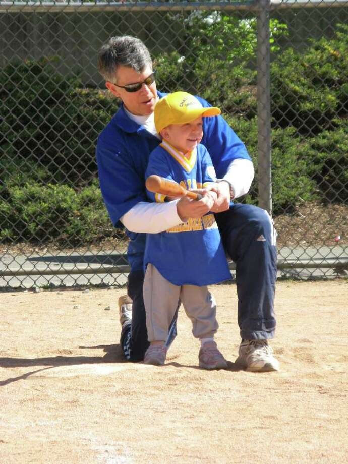 Head Coach and Commissioner Charlie Santos-Buch started the Challenger League 13 years ago to give special needs children the opportunity to play baseball and have fun. Photo: Contributed Photo / Darien News