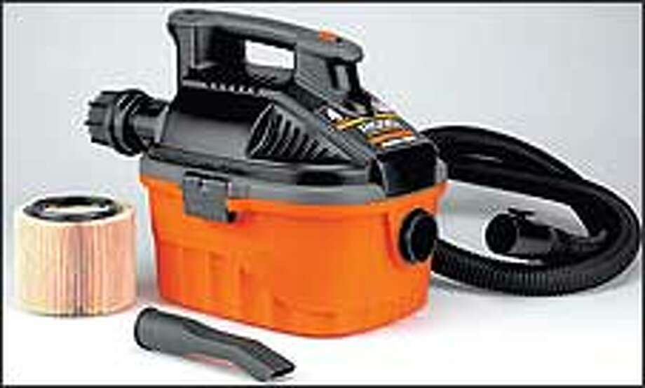 The Rigid Portable Pro wet/dry vacuum sells for about $70.