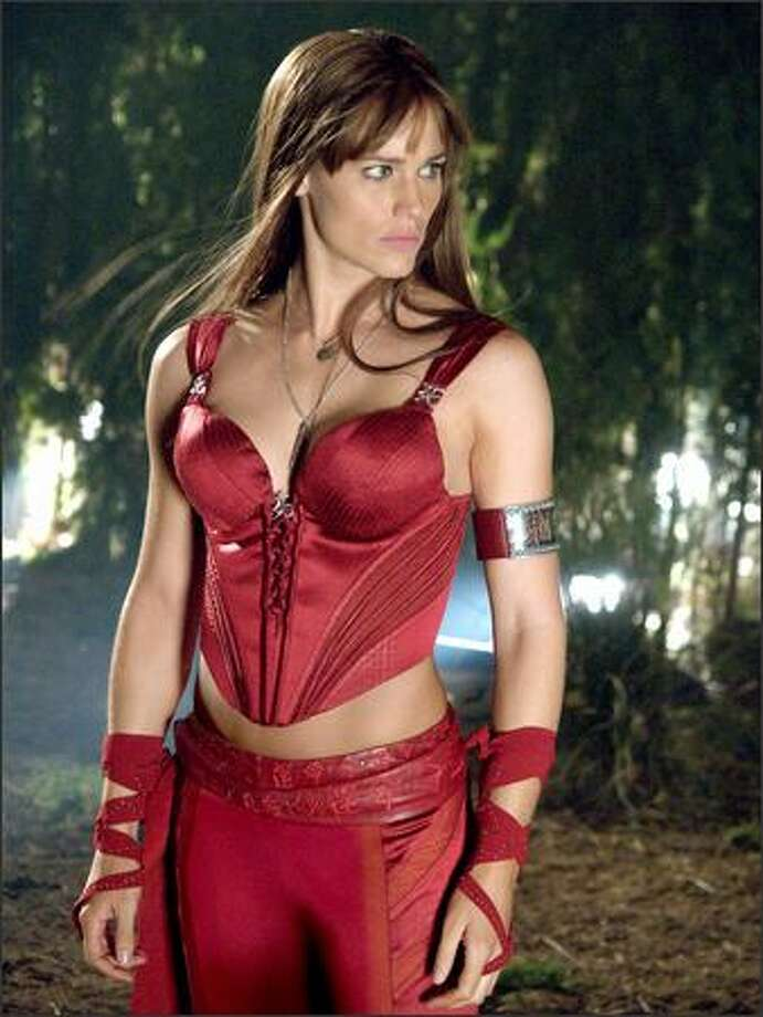 "Jennifer Garner reprises her role from 2003's ""Daredevil"" as the deadly martial artist Elektra Natchios. Resurrected after being mortally wounded by the hired killer Bullseye, Elektra has herself now become the deadliest of assassins. Photo: Twentieth Century Fox"
