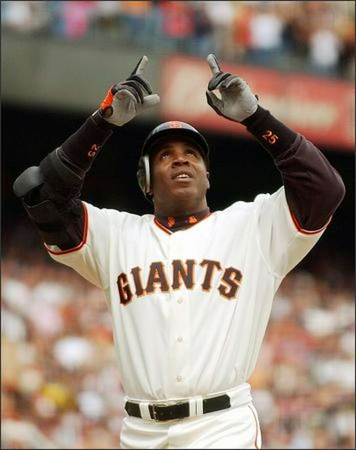 Barry Bonds Photo: Associated Press