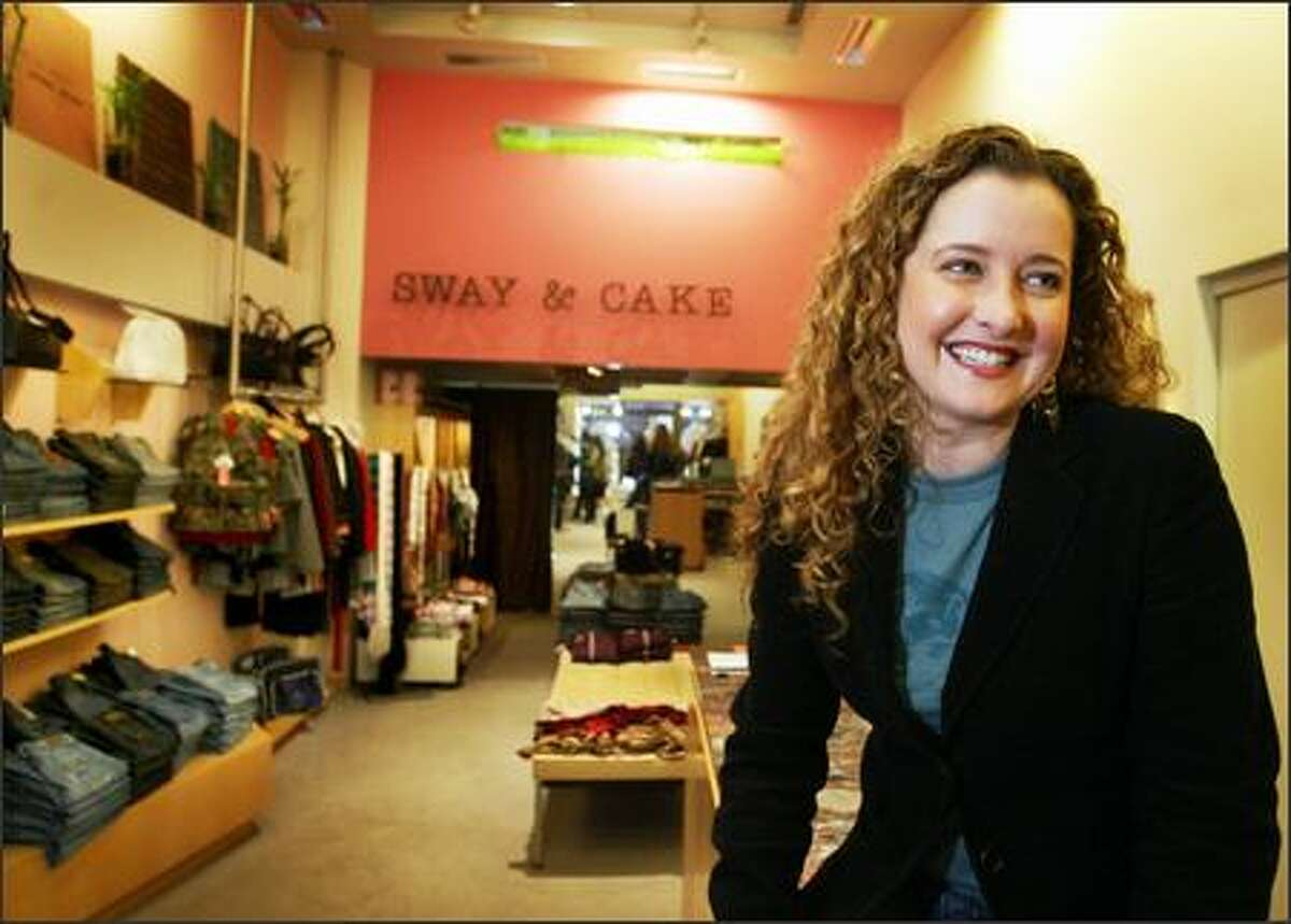 Tamara Donaghy-Bates is owner of Sway & Cake boutique.