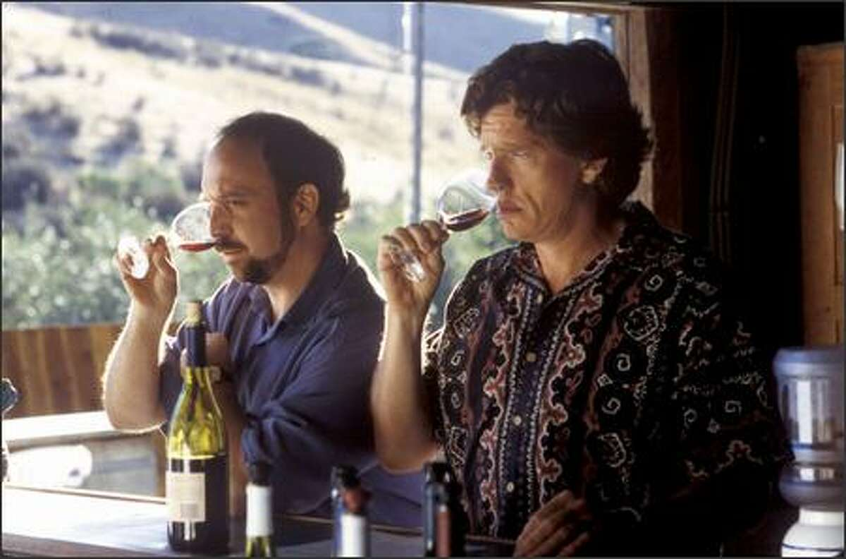 """Thomas Haden Church (right, with co-star Paul Giamatti) stars in """"Sideways"""" as a groom-to-be who goes on a week-long road trip through California's wine country."""
