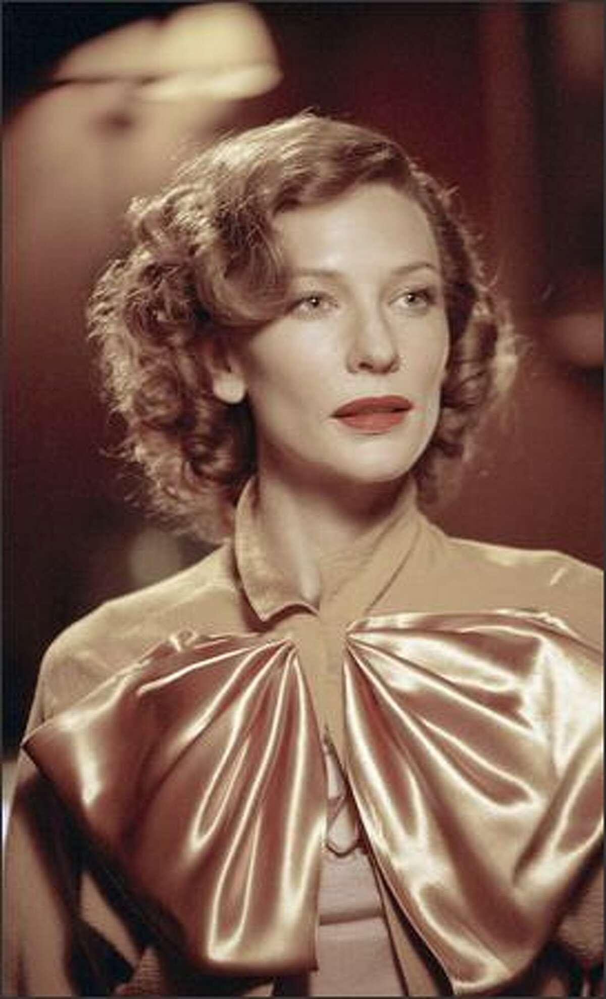 Cate Blanchett stars as actress Katharine Hepburn in