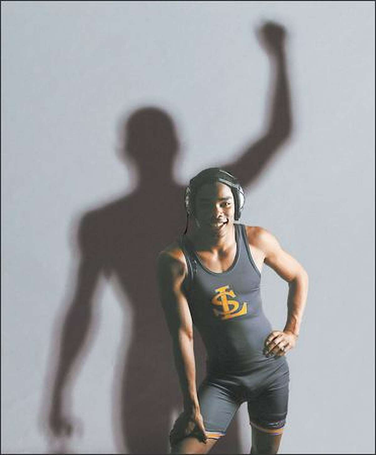 When Lake Stevens' Lester Brown was a freshman, he didn't want to turn out for wrestling. He became a two-time state champion. He's considering attending Boise State, but has also talked with Minnesota and Wyoming.