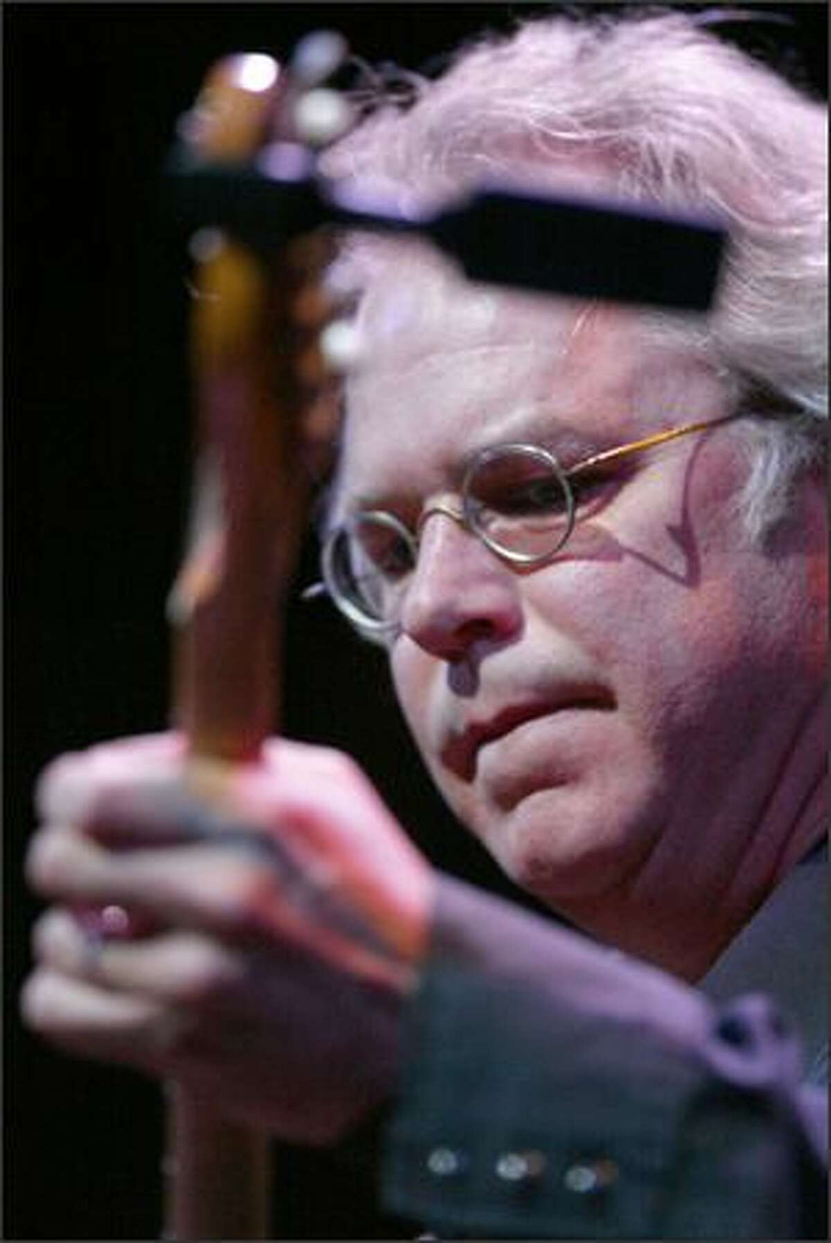 Guitarist Bill Frisell performs at the Paramount.