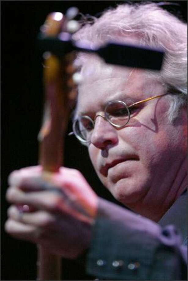 Guitarist Bill Frisell performs at the Paramount. Photo: Karen Ducey, Seattle Post-Intelligencer