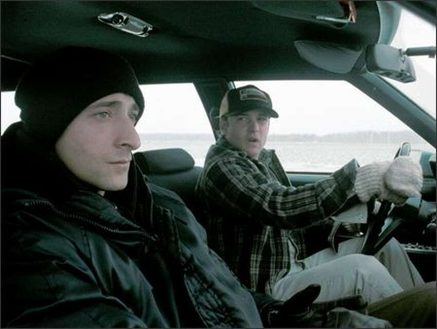 Starks continues hitchhiking, and is picked up by a station wagon driven by a young man (Brad Renfro) headed for the Canadian border. Shortly afterward, the car is pulled over by the police and Starks blacks out. When he awakens, he finds himself on trial for murder in a small-town court.