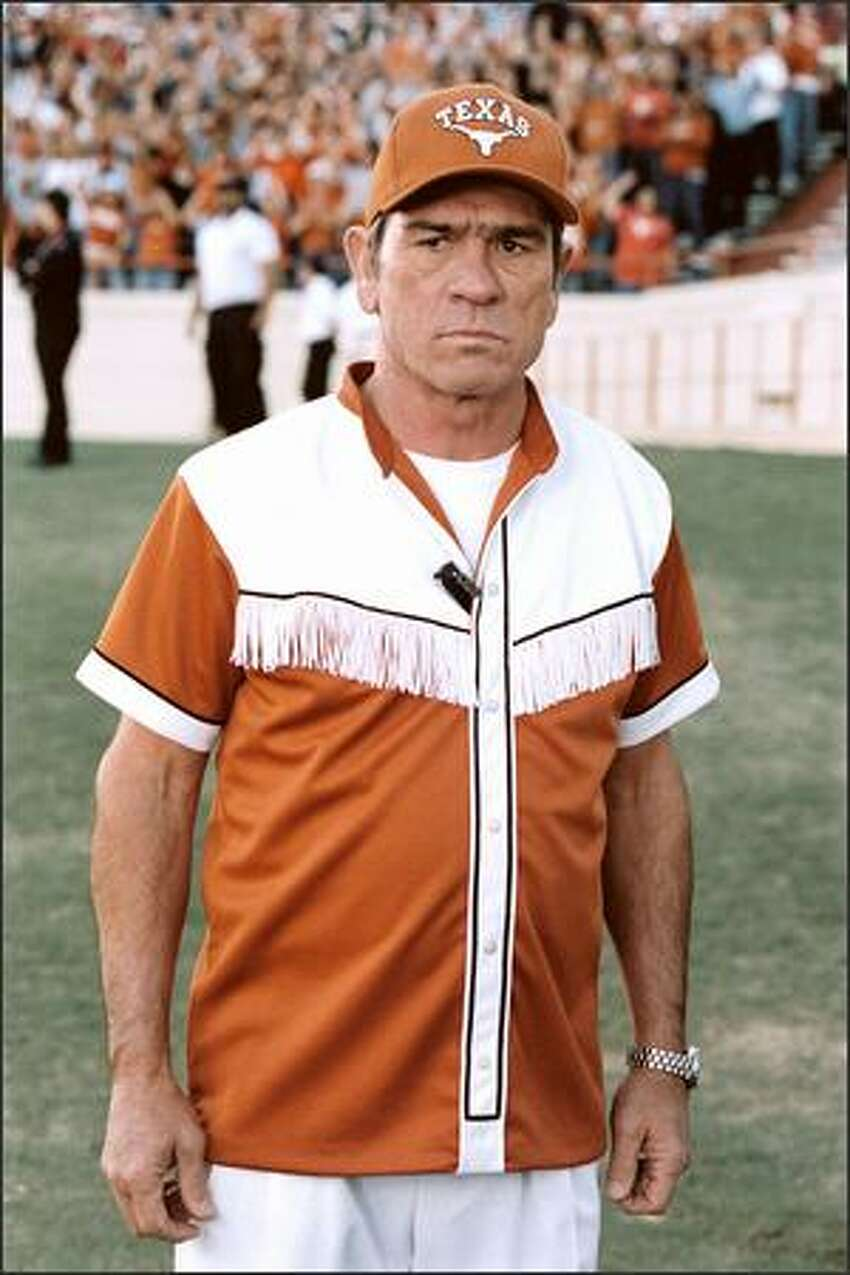 Tommy Lee Jones stars as by-the-book Texas Ranger Roland Sharp, who is assigned to protect the only witnesses to a crime -- a group of University of Texas cheerleaders -- by going undercover and moving in with the five uncontrollable coeds.
