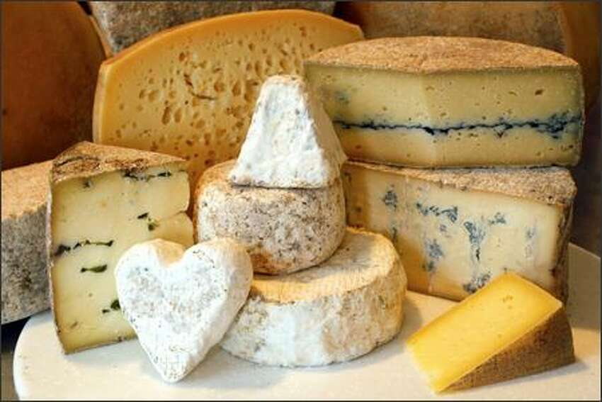 Cheeses sold at the Estrella Family Creamery in Montesano include Melange, Grisdale Goat, Wynoochee River Blue and Guapier.
