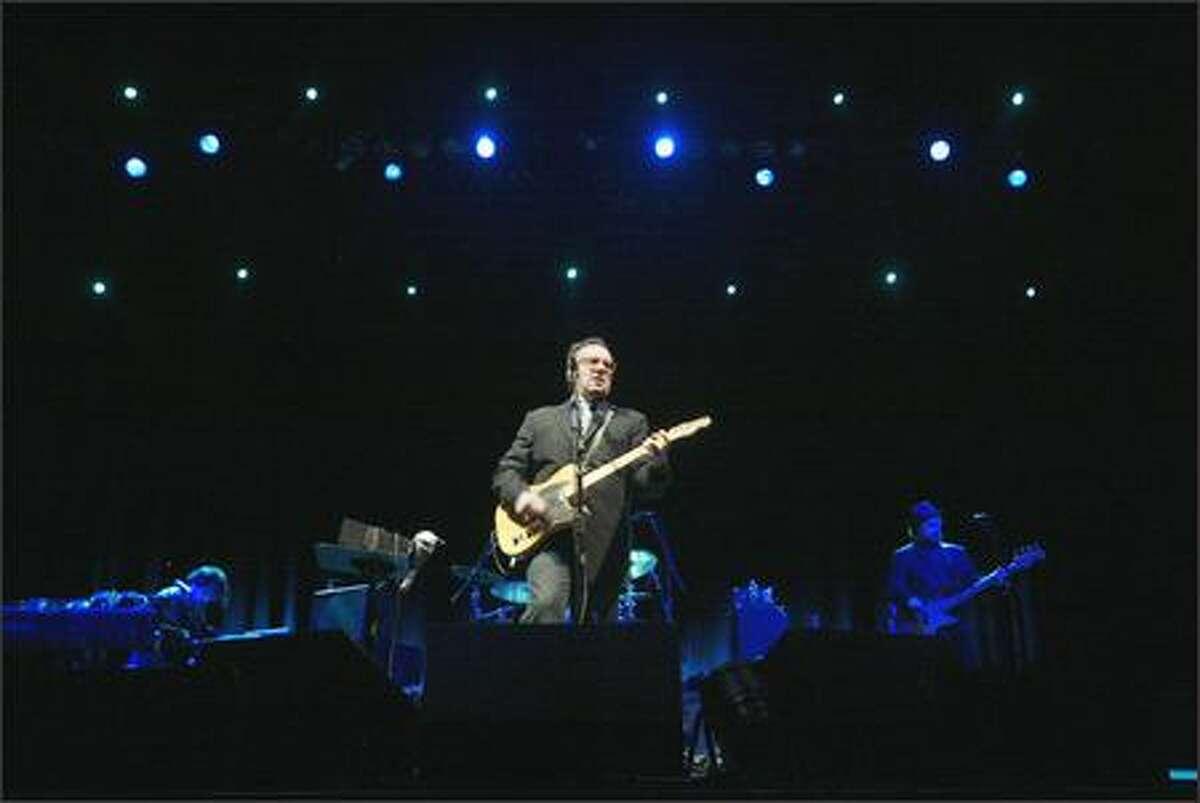 Elvis Costello plays the Paramount Theatre.