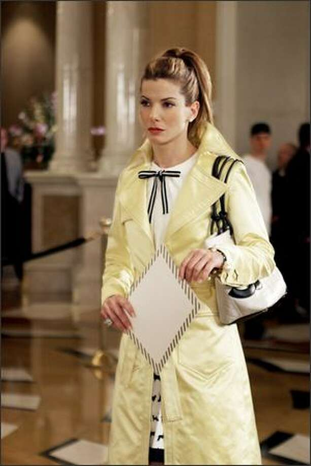 "Veteran comedic actress Sandra Bullock, 40, reprises her role as klutzy FBI agent Gracie Hart in the sequel to ""Miss Congeniality,"" a box office hit that opened Christmas 2000. Photo: Warner Brothers"